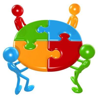 trabalhe em equipe para alcançar o sucesso na carreira
