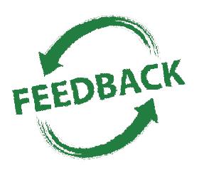 Feedback - Ação e reação
